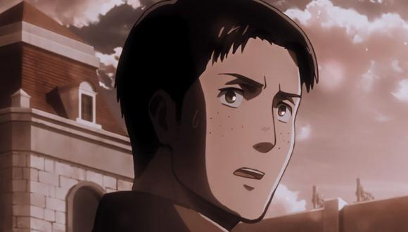 Marco fue un aprendiz del Cuerpo de Entrenamiento y se graduó como el séptimo aprendiz mejor clasificado en su clase. Luego se le fue asignado el mando de su propio escuadrón. (Foto: Crunchyroll)