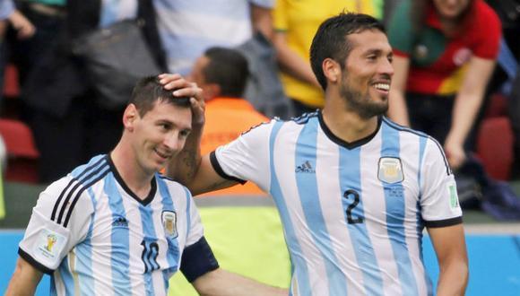 Ezequiel Garay logró disputar el Mundial 2014 con la Selección Argentina. (Foto: Agencias)