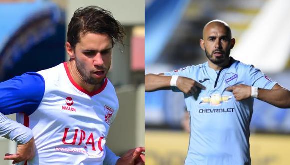 Felipe Rodríguez y Marcos Riquelme jugaron juntos en Bolivar durante el 2018. (Foto: Mannucci / Agencias)