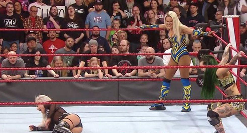 Liv Morgan venció a Lana, pero luego fue atacada por Ruby Riott. (Foto: WWE)