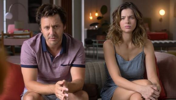 "Benjamín Vicuña y Eugenia 'China' Suárez protagonizan ""Terapia alternativa"", serie de Star+. (Foto: Captura)"