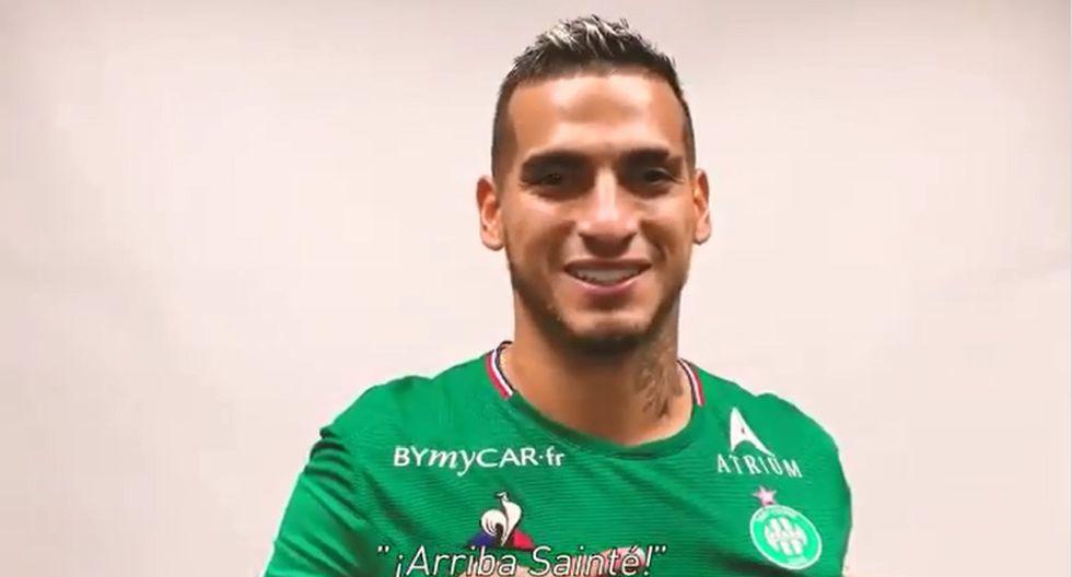 Miguel Trauco es oficializado como jugador del Saint-Etienne. (Foto: @ASSEofficie)