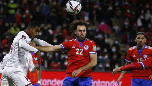 Chile derrotó 3-0 a Venezuela en el duelo por la Jornada 12 de las Eliminatorias Qatar 2022. (Foto: AFP)