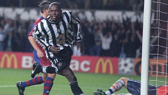 Faustino Asprilla jugó en el Newcastle entre 1996 y 1997. (Foto: AFP)