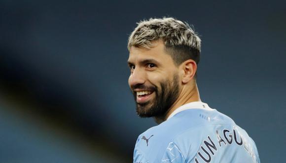 Sergio Agüero termina contrato con Manchester City en junio de este año. (Foto: Reuters)