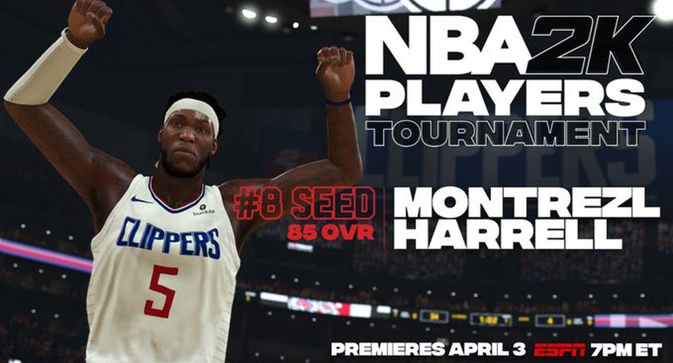 Montrez Harrell. (Foto: Twitter @NBA2K)