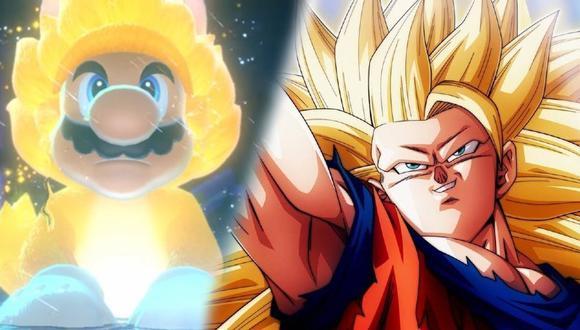 """¿Nintendo al estilo Dragon Ball? Mario se transforma en """"Super Saiyajin"""" en nuevo tráiler"""