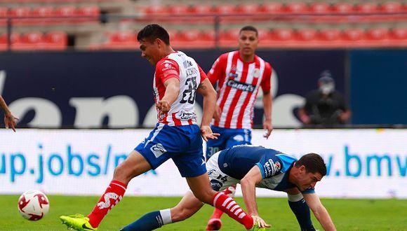 San Luis cayó ante Puebla en Alfonso Lastra por décima jornada Clausura 2020. (Foto: Getty)