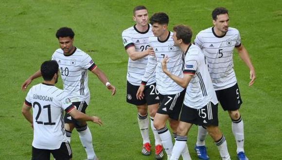 Alemania venció 4-2 a Portugal en la Jornada 2 de la Eurocopa 2021. (Foto: Twitter)