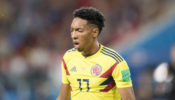 Johan Mojica jugó el Mundial Rusia 2018 con la Selección Colombia. (Foto: AFP)