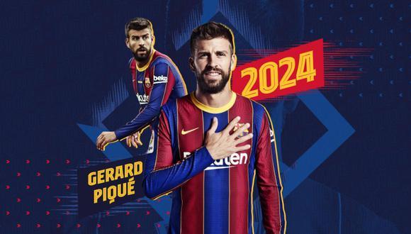 Piqué aceptó reducirse el sueldo en Barcelona. (Foto: FCB)