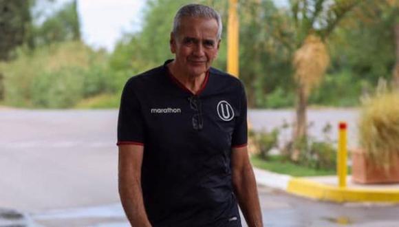 Pérez solo pudo dirigir tres meses en Universitario de Deportes. (Foto: Universitario de Deportes)