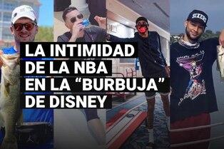 """Así es la vida de los jugadores de la NBA dentro de la """"burbuja"""" de Disney"""