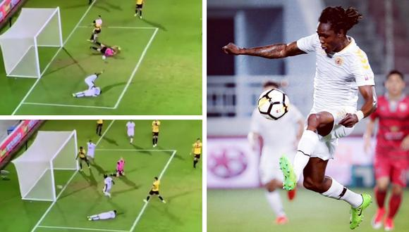 El video del polémico gol de Habib Habibou en la Liga Premier israelí se volvió viral en Facebook en cuestión de minutos. (Fotos: @brooklynnhabibou7 en Instagram)
