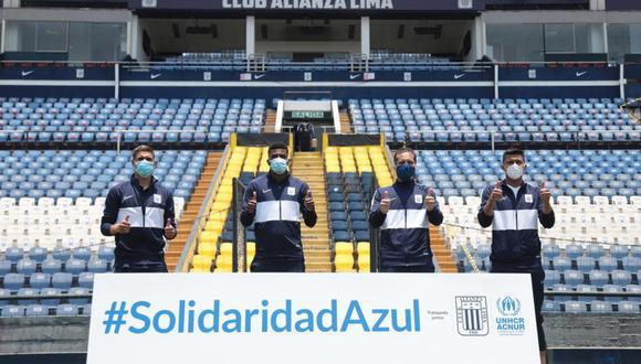 Alianza Lima y ACNUR reafirman su compromiso