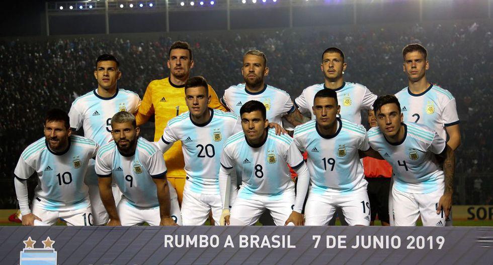 1° Argentina - 396 puntos (Foto: Agencias)