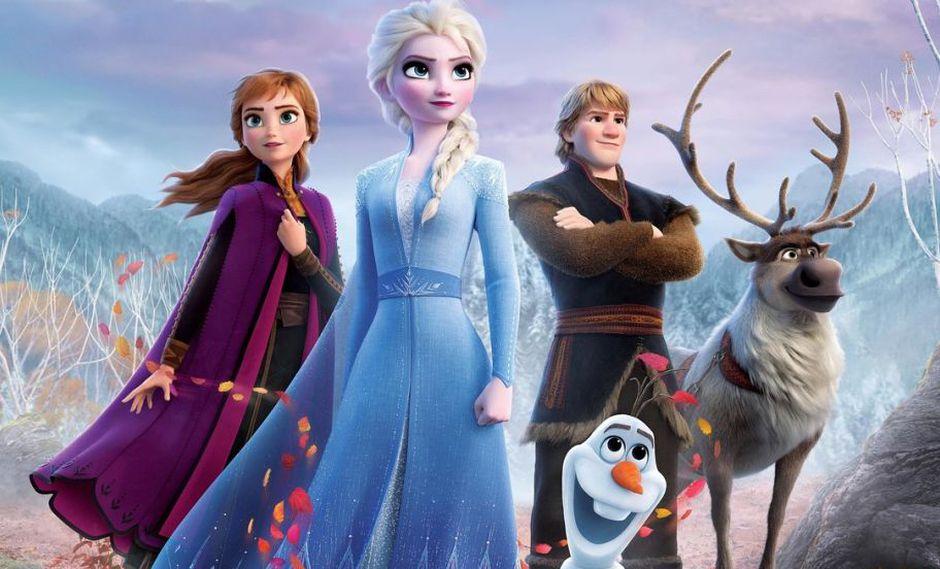 Frozen 2 superó en taquilla a la primera película.