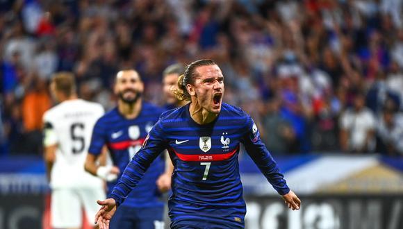 Antoine Griezmann marcó los goles del triunfo para Francia contra Finlandia. (Foto: Agencias)
