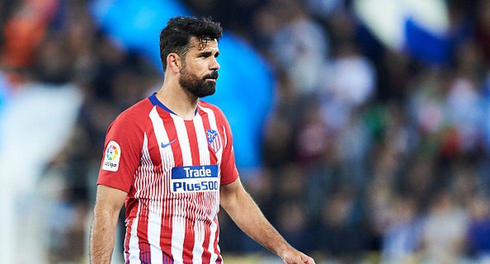Diego Costa cumple su segunda etapa en el Atlético de Madrid desde la temporada 2017/18. (Getty)