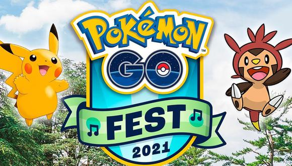 Pokémon GO Fest 2021: todo lo que ofrece el evento. (Foto: Niantic)