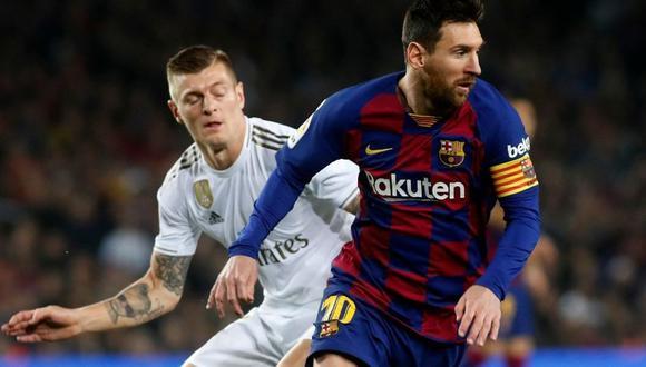 Barcelona y Real Madrid se miden el próximo sábado por el Clásico de España. (AP)