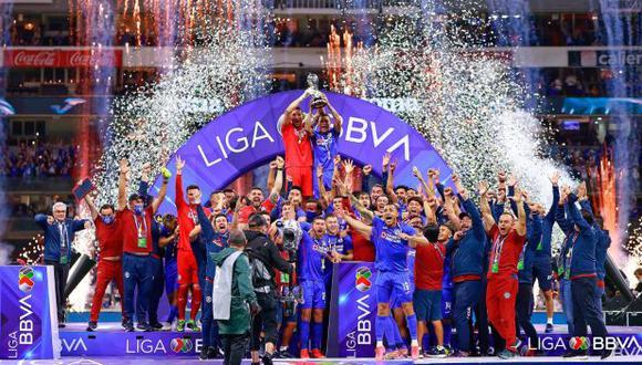 Cruz Azul se coronó campeón de la Liga MX tras 23 años. (Foto: Liga MX)