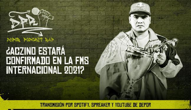 ¿Aczino estará confirmado en la FMS Internacional 2021?
