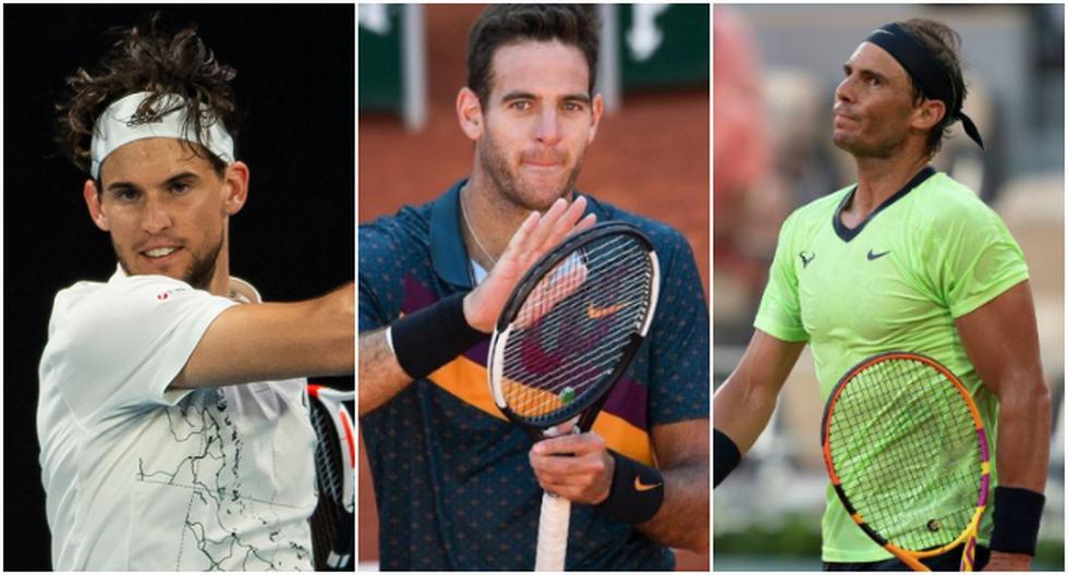 Las principales figuras del tenis que no participarán de los Juegos Olímpicos Tokio 2020. (Difusión)