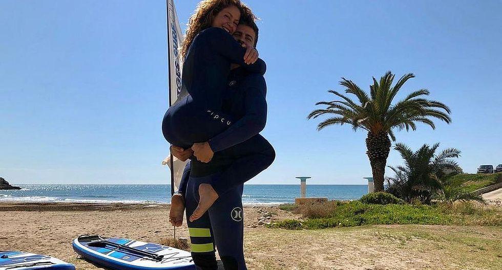 Shakira y Gerard Piqué derrochan amor durante sus vacaciones. (Foto: @shakira)
