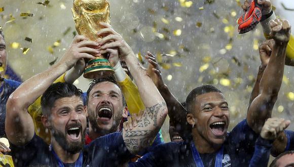 Francia es el vigente campeón de la Copa del Mundo de la FIFA. (Getty)