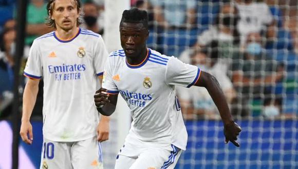 Eduardo Camavinga tiene un gol y una asistencia en sus dos primeros partidos de Real Madrid. (Foto: AFP)