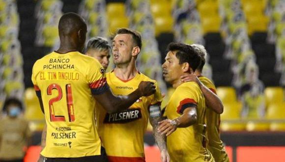 Liga de Quito vs Barcelona se enfrentaron por la final de vuelta de la Liga Pro de Ecuador. (Foto: Agencias)