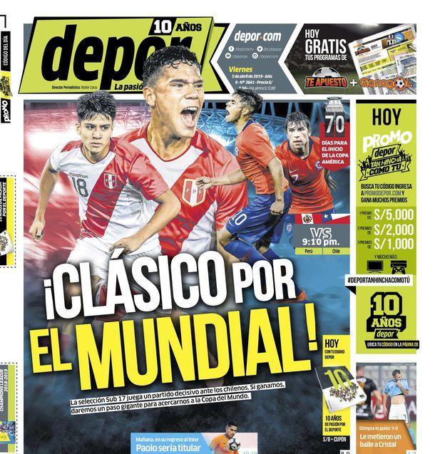 ¡Clásico Por El Mundial!