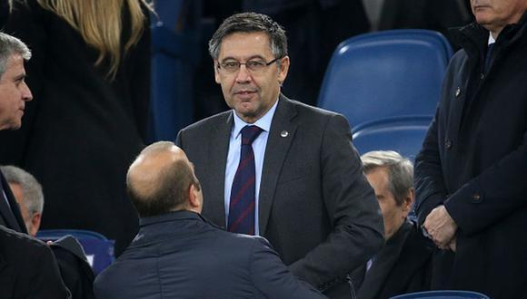 Josep Maria Bartomeu lleva su segunda gestión a cargo del Barcelona. (Foto: Getty Images)