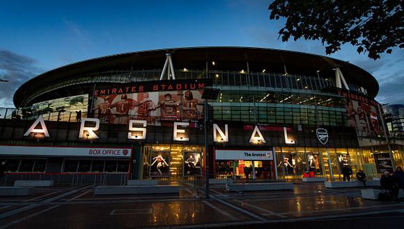 Arsenal es local en el Emirates Stadium de Londres. (Foto: Getty)