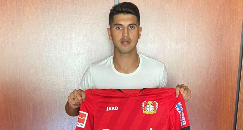Bayer Leverkusen anunció la contratación de Exequiel Palacios, proveniente de River Plate. (Foto: Twitter)