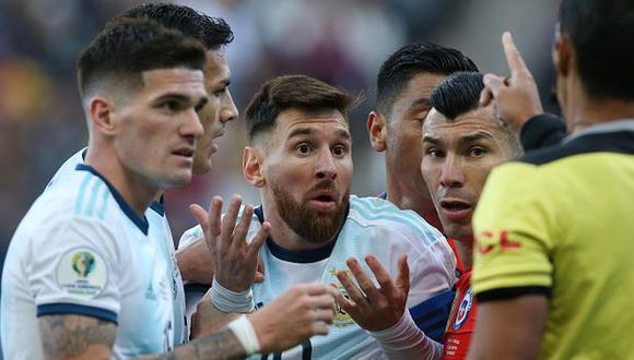 Lionel Messi le anotó a Paraguay en la Copa América 2019. (Foto: Getty Images)