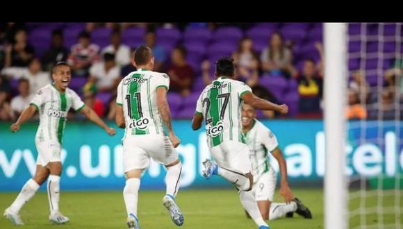 Atlético Nacional derrotó 3-0 a Huracán en el Atanasio Girardot por la Fase 1 de la Copa Sudamericana 2020