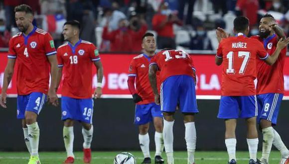 Chile derrotó 3-0 a Venezuela en el duelo por la Jornada 12 de las Eliminatorias Qatar 2022. (Foto: EFE)