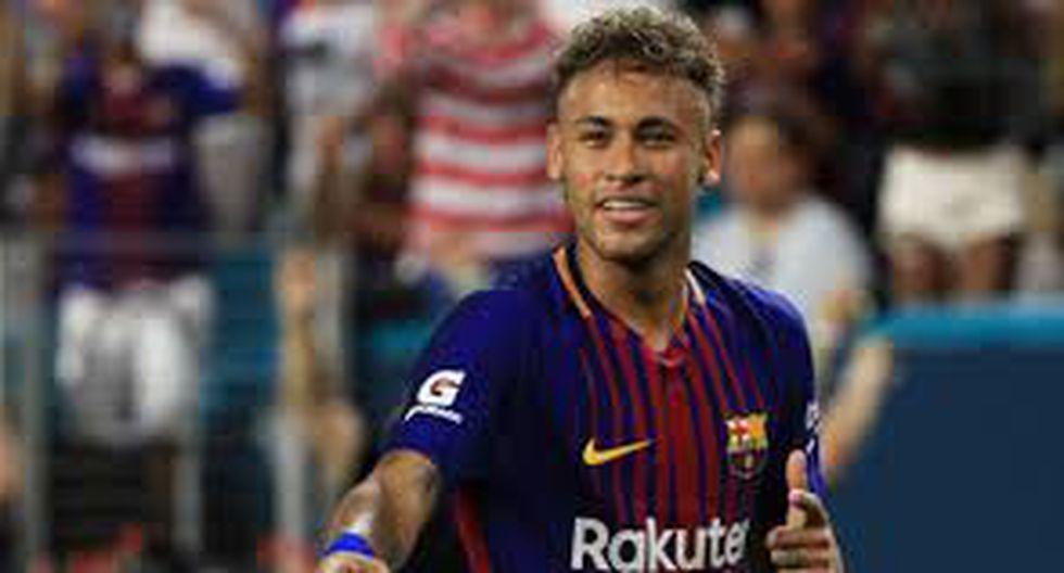 Neymar llegó al PSG en la temporada 2017/18. (Getty)
