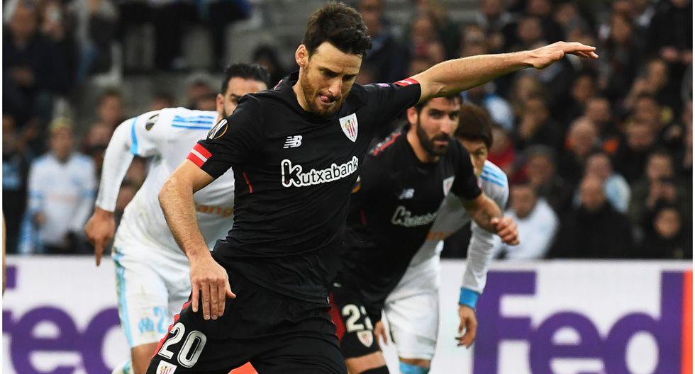 Edad 39: Aritz Aduriz juega en Athletic Bilbao y está valorizado en 1,1 millones de dólares (Foto AFP)