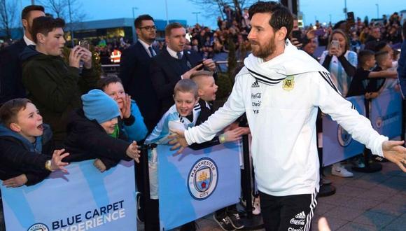Manchester City espera nueva oportunidad para fichar a Lionel Messi