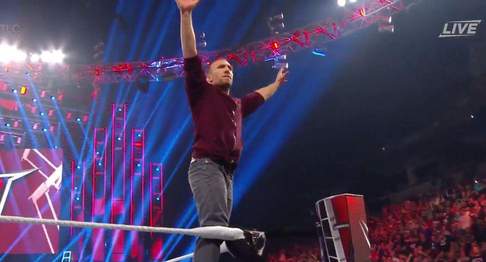 Daniel Bryan se presentó en TLC 2019 con un nuevo 'look'. (Foto: WWE)
