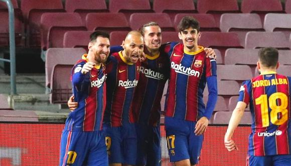 Barcelona vs. Sevilla por semifinales de la Copa del Rey. (Foto: Reuters)