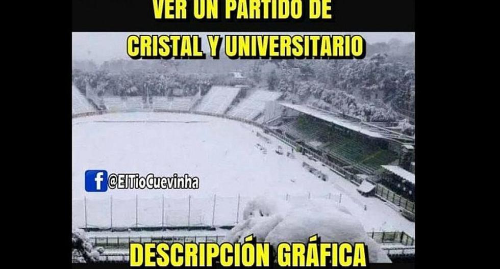 Universitario de Deportes se enfrenta a Sporting Cristal y los memes los vacilan en redes sociales. (FACEBOOK)