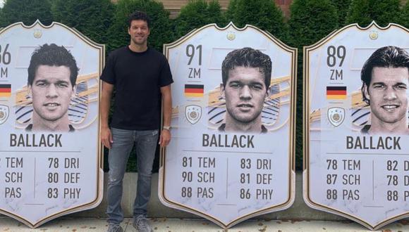 FIFA 21: Ballack, Lothar Matthäus y Samuel Eto'o son los nuevos iconos de Ultimate Team. (Foto: EA Sports)