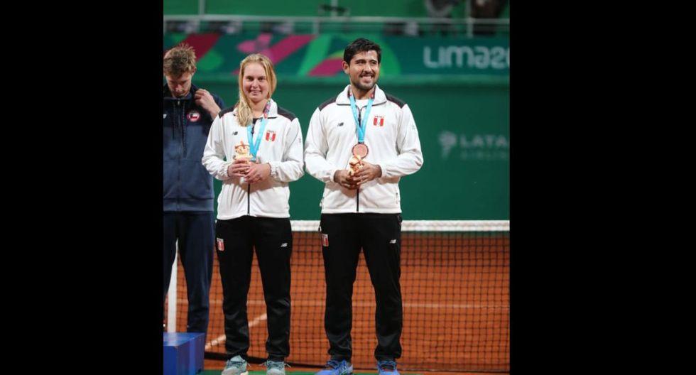 Premiación a los tenistas peruanos en Club Lawn Tenis. (Foto: Giancarlo Avila)