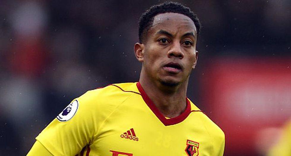 André Carrillo tendrá con Dodi Lukebakio otra competencia en el ataque del Watford. (Getty Images)