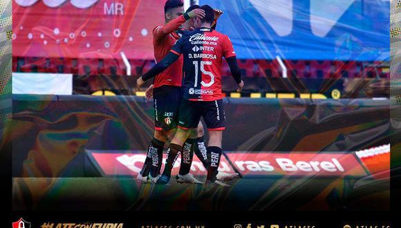 Atlas vs. Atlético San Luis se vieron las caras este martes por la jornada 9 de la Liga MX 2021 (Foto: @atlasfc)