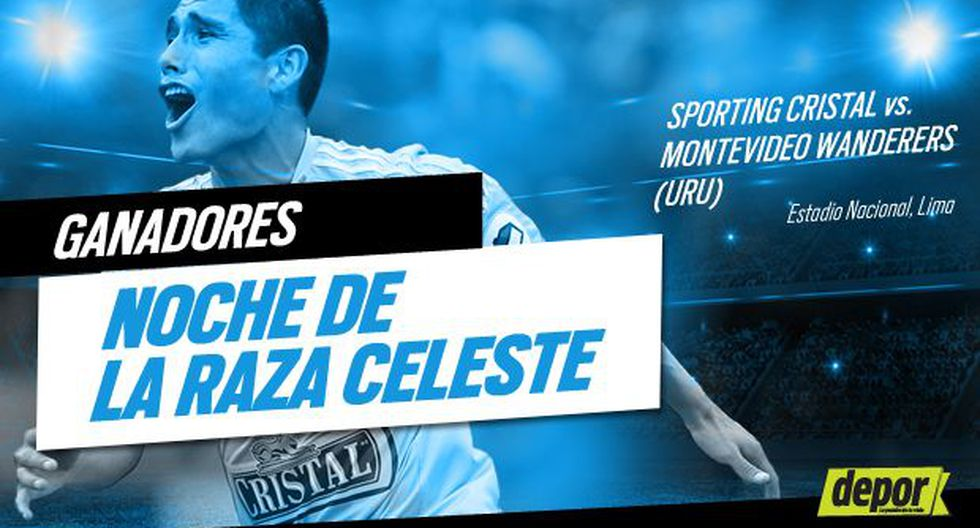 Sporting Cristal: conoce a los ganadores de las entradas dobles